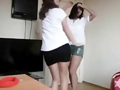 arab - turk school girls dancing on web camera 10