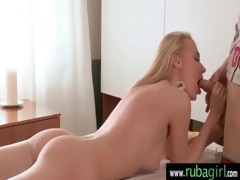 rubbing erotic massage ending with hard fuck 20