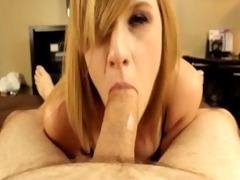 mallory starr sucks cock