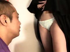 sister rika sakurai prays to the sex gods for a