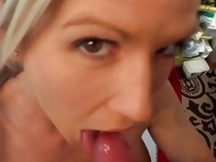 cougar swallows juvenile guys jizz
