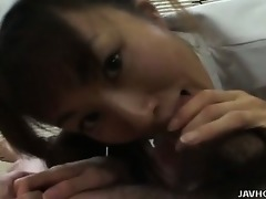 hot juvenile nurse kao gives her particular