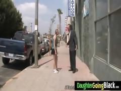 juvenile daughter screamer bonks a black shlong 54