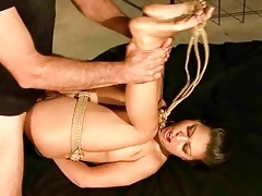 juvenile hotty getting punished and screwed