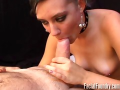 youthful and nervous blowjob
