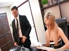 lustful young secretary