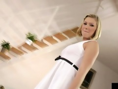 youthful euro slut pampers her love tunnel