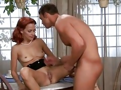 payton leigh has her trickling gash tongued by a