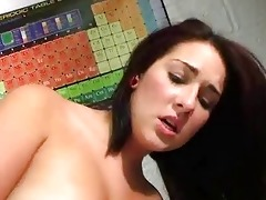 youthful college angels enjoying dicks