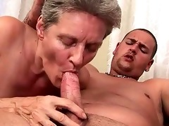 lusty grandmas and youthful men compilation