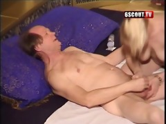 juvenile blonde give oral