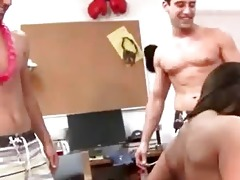 juvenile students fuck on college party