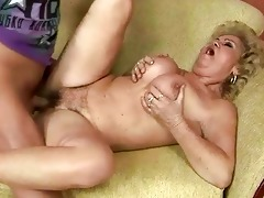 unattractive old slut acquires screwed by chap