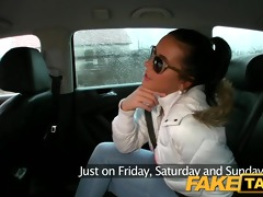 faketaxi hot juvenile czech gal sucks pecker to