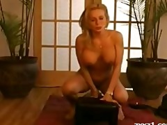 sybian golden-haired