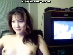 hawt gf chatting topless