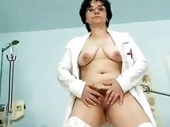 old lady head nurse perverted shaggy wet crack