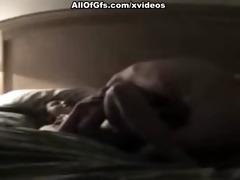 non-professional vagina receives fingeres untill