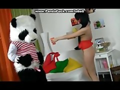 giant toy panda fuck juvenile angel