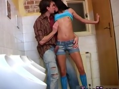 debbie boinked in public lavatory