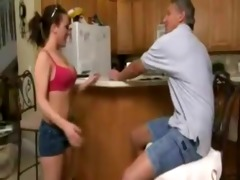 daddy bribes daughter for sex