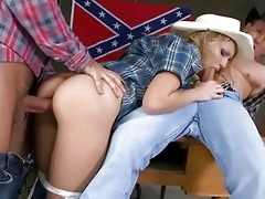 juvenile cowgirl nataly von riding dicks