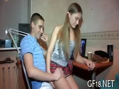 his girlfriend getting screwed hard