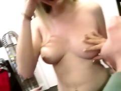 three sexy youthful coeds enjoying groupsex