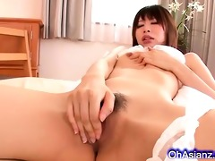 sexy juvenile asian playgirl engulfing dong