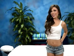 cute 14 year old vanessa enticed and screwed hard