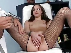 youthful hotty fucking with her doctor