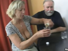 she is tries group sex with his parents
